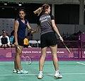 2018-10-12 Badminton Mixed International Team Final match 1 at 2018 Summer Youth Olympics by Sandro Halank–010.jpg
