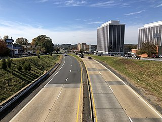 Arlington Boulevard highway in Virginia