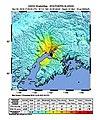 2018-11-30 Anchorage, Alaska M7 earthquake shakemap (USGS).jpg