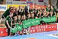 20180331 OEHB Cup Final Stockerau vs St. Pölten Team UHC Stockerau 850 5977.jpg