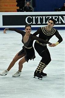 Alisa Agafonova Ukrainian ice dancer