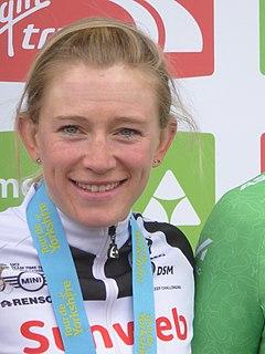 Julia Soek Dutch cyclist