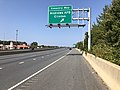 2019-10-01 12 21 32 View north along Maryland State Route 5 (Branch Avenue) at the exit for Coventry Way (Andrews Air Force Base, Clinton) in Clinton, Prince George's County, Maryland.jpg