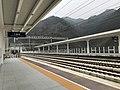 201901 Northern end of Platform 2 of Sanyang Station.jpg