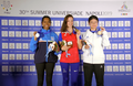 2019 Summer Universiade 10 metre air rifle women winners.png