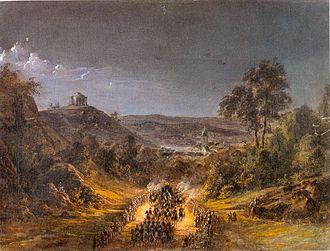 Wirtemberg Castle - Image: 223Leichenzug Wilhelm
