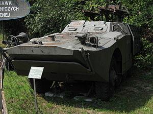 2P27 tank destroyer at the Muzeum Polskiej Techniki Wojskowej in Warsaw (4).jpg
