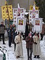 2 Sanok. The deacons follow the procession to San River..JPG