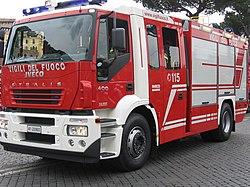 Strażacki Iveco Magirus Stralis