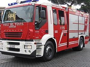Vigili del Fuoco - Italian Fire Service Iveco Magirus Eurofire Stralis AT400