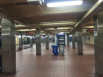 30th Street station (subway) - Image: 30th Street Transfer Arra