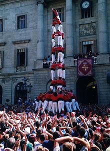 Castellers, le torri umane