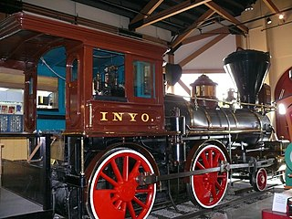 Virginia and Truckee RR. Engines No. 18, The Dayton; and No. 22, The Inyo United States historic place