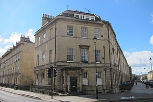 Great Pulteney Street - Image: 41A Great Pulteney Street, Bath