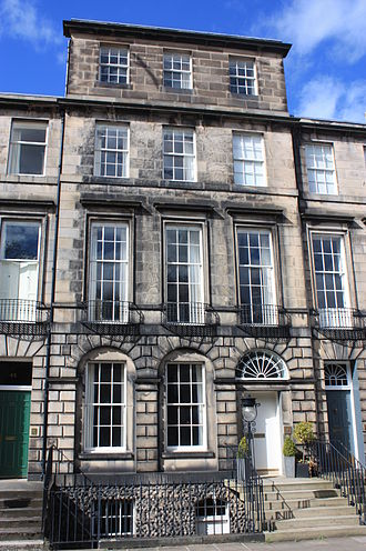 Archibald Alison (author) - 44 Heriot Row, Edinburgh, home of Rev Archibald Alison
