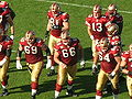 49ers break huddle at St. Louis at SF 11-16-08.JPG