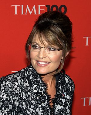 English: Sarah Palin at the Time 100 Gala in Manhattan on May 4, 2010.