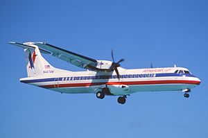 American Eagle Flight 4184 - An American Eagle ATR 72–212 similar to the accident aircraft
