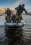 539 Assault Squadron performing a beach assault MOD 45159503.jpg