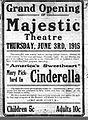 6-2-1915 Majestic Grand Opening Ad.JPG