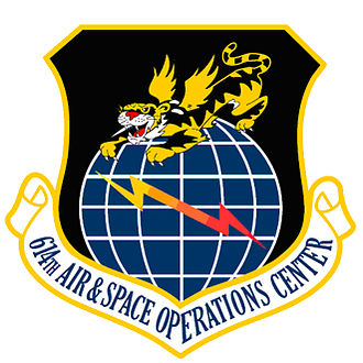 614th Air and Space Operations Center - 614th Air and Space Operations Center emblem