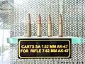 7.62mm ammo of Kalashnikov. (49213202952).jpg