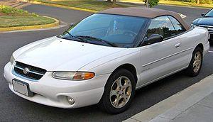 Chrysler Sebring - 1996-1998 Chrysler Sebring convertible
