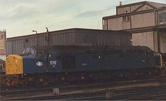 British Rail Class 40 - Image: 97407 Manchester