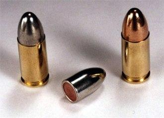 9×19mm Parabellum - Image: 9 19 parabellum FMJ