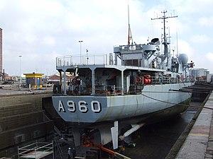 A960 in Drydock p5, Antwerp, Belgium.JPG