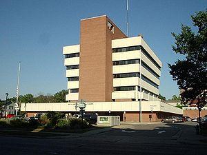 Alden B. Dow - Ann Arbor City Hall