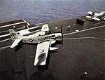 AD-5W of VAW-11 on USS Bennington (CVS-20) in 1962.jpg