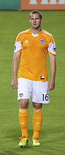 A. J. Cochran American Professional Soccer Player