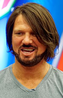 A.J. Styles American professional wrestler