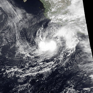 Tropical Storm Aletta (1982) Pacific tropical storm in 1982