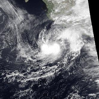 Tropical Storm Aletta (1982) - Image: ALETTA 1982 may 21 2150Z