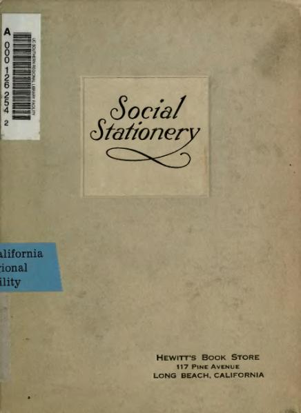 File:A Desk Book on the Etiquette of Social Stationary.djvu