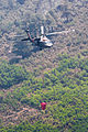 A U.S. Army UH-60 Black Hawk helicopter assigned to the High-Altitude Army National Guard Aviation Training Site, Colorado Army National Guard helps fight the East Peak wildfire near La Veta, Colo., June 21 130621-Z-UA373-254.jpg