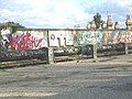 A graffiti gallery on the Greenways, near Abbey Mills Pumping Station - geograph.org.uk - 335480.jpg