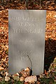 A memorial stone on Ravenswood Estate - geograph.org.uk - 1565931.jpg