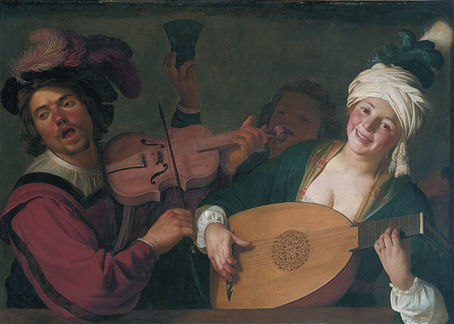Honthorst Lute Player