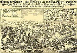 Battle of Saint Gotthard (1664) battle