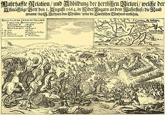 Austro-Turkish War (1663–64) - Battle of Saint Gotthard