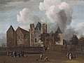 A view of Purmerend Castle, near Monnickendam, Waterland by Jan van Kessel (Amsterdam 1641-1680).jpg