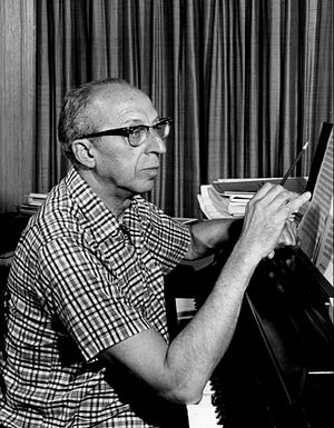 Connotations (Copland) - Copland in 1962.