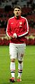 Aaron Ramsey warm up - 4 Dec 2013.jpg