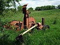 Abandoned farm machinery, Bwlch Cae Brith - geograph.org.uk - 807762.jpg