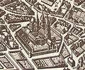 Abbaye de Saint-Germain-des-Prés in 1618.jpg