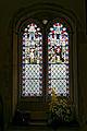 Abbess Roding - St Edmund's Church - Essex England - chancel south window.jpg