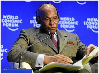 Abdoulaye Wade - At the World Economic Forum Annual Meeting 2009